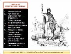 конспект урока возникновение христианства