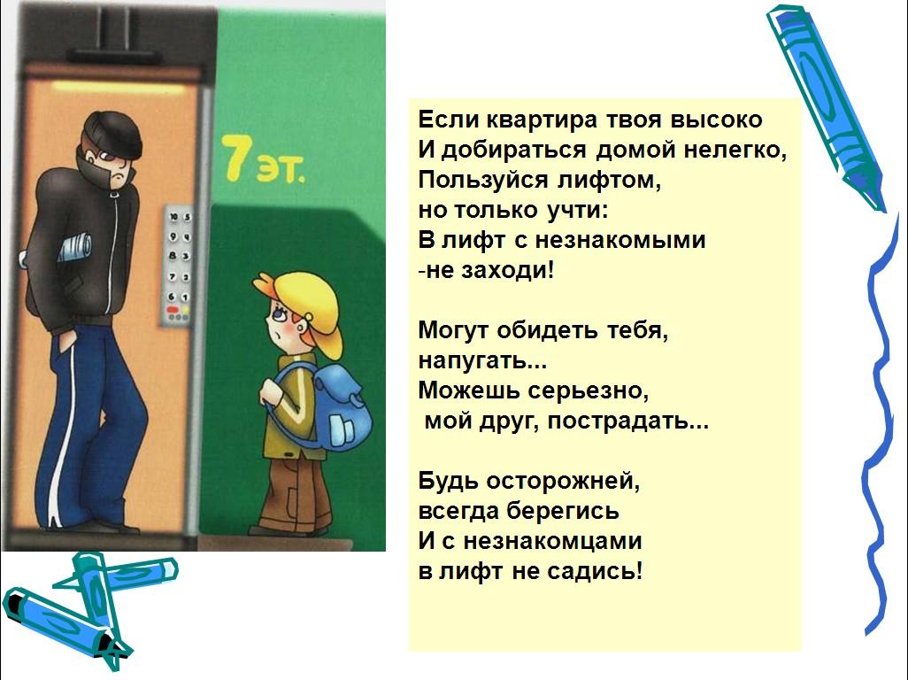 безопасность дома для дошкольников презентация