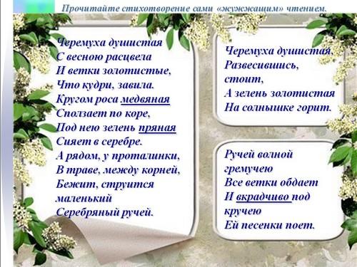 конспект биография сергея есенина
