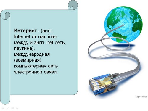 История Возникновения Интернета Презентация.Rar