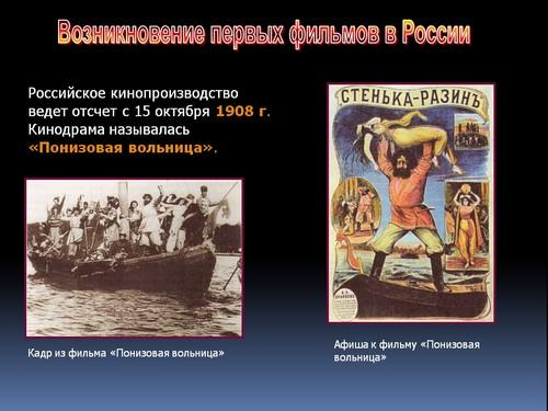 презентация кинематограф 20 века