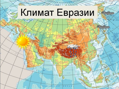 климат евразии 7 класс