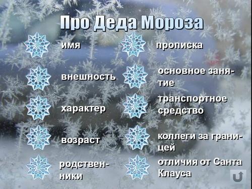 про деда мороза и новый год презентация