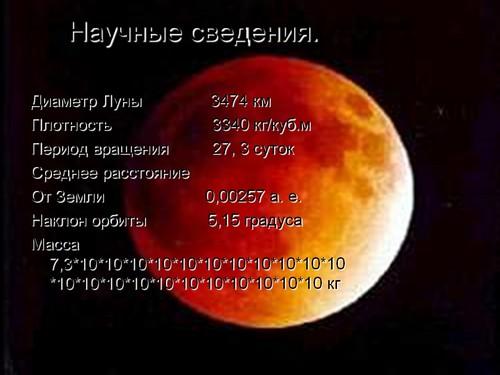 презентация путешествие на луну
