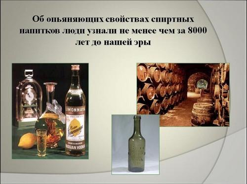 влияние алкоголя на организм презентация
