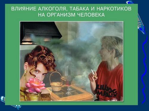 вредные привычки и их влияние на здоровье человека презентация 5 класс