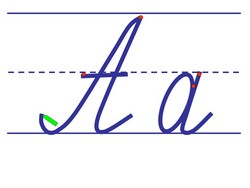 Образец написания букв для 1 класса распечатать — мдоу